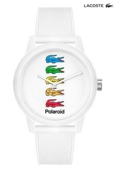 Lacoste 12.12 White Silicone Strap Watch