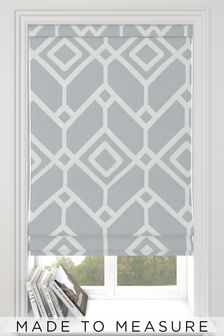 Lattice Geo Made To Measure Roman Blind