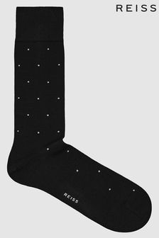 Reiss Mario Polka Dot Socks