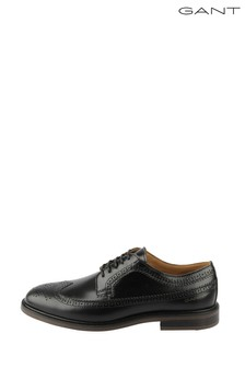GANT Black Ricardo Low Lace Shoes