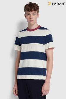 Farah Blue Watson Short Sleeve T-Shirt