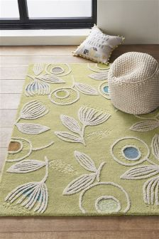 Bright Floral Rug