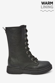 Lace-Up Mid Boots (Older)