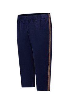Baby Girls Navy Corduroy Trousers