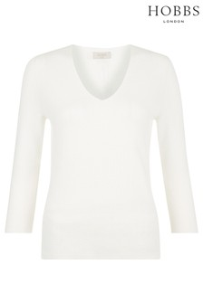 Hobbs White Amber Sweater