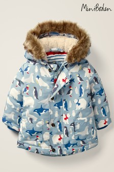 Boden Blue 3-In-1 Padded Jacket