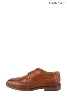 GANT Brown Ricardo Low Lace Shoes