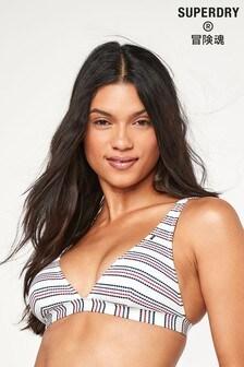 Superdry White Edit Bikini Top