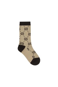 Kids Nude Cotton Socks