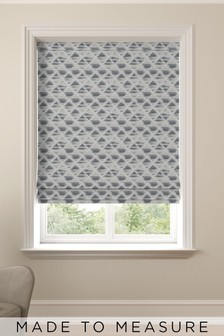 Souky Lined Made To Measure Roman Blind