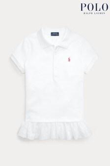 Polo Ralph Lauren White Logo Polo