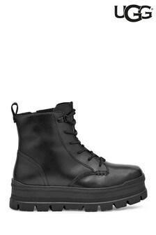UGG Black Sidnee Platform Boots