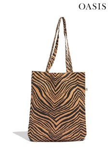 Oasis Animal Tiger Canvas Bag For Life