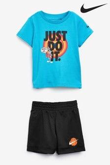Nike Infant Toddler Space Jam JDI. Short Set