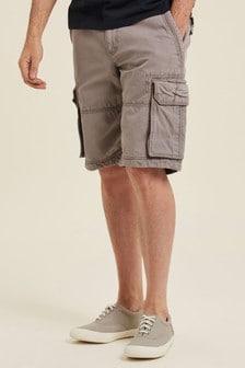 FatFace Grey Breakyard Cargo Shorts