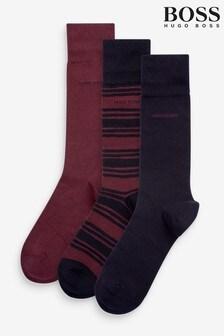 BOSS Blue Gift Set Socks Three Pack