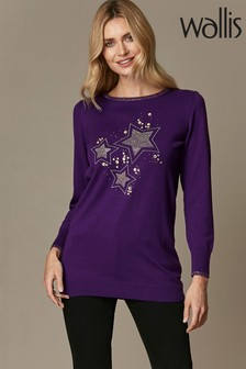 Wallis Purple Star Trio Tunic