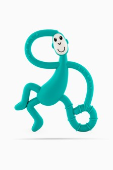 Matchstick Monkey Dancing Monkey Teether - Green