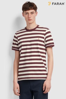 Farah Red Belgrove T-Shirt