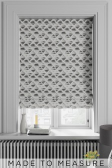 Souky Smoke Grey Made To Measure Roman Blind