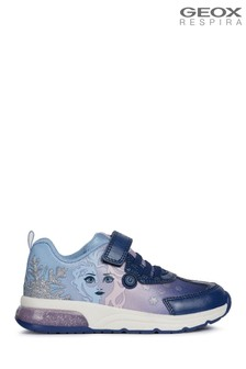 Geox Girls Spaceclub Blue Shoes