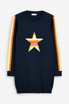 Star Jumper Dress (3-12yrs)