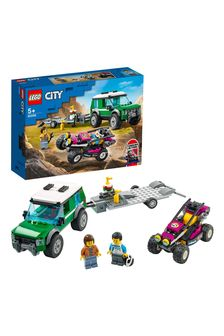 LEGO 60288 City Great Vehicles Race Buggy Transporter Toy