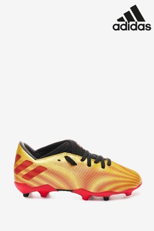 adidas Gold Messi P3 Kids Firm Ground Football Boots