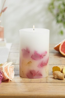 Rhubarb and Ginger Inclusion Candle