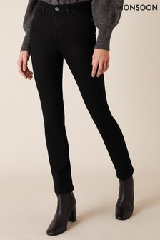 Monsoon Black Azura Premium Short-Length Jeans