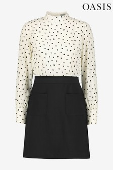 Oasis Natural 2 For Mono Shift Dress