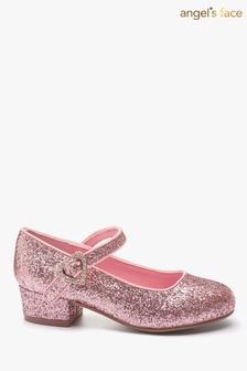 Angel's Face Pink Heeled Shoes