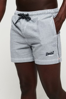 Superdry Seersucker Volley Swim Short