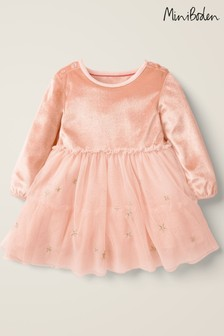 Boden Pink Christmas Tulle Dress