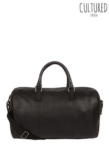 Cultured London Weekender Leather Holdall