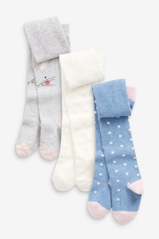 3 Pack Bunny Tights