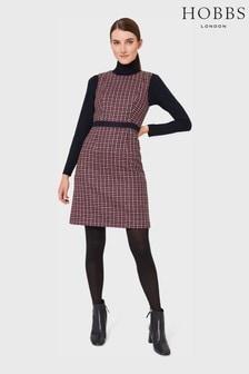 Hobbs Pink Penelope Wool Dress
