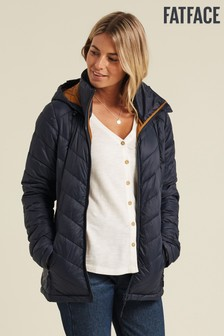 FatFace Blue Lauren Lightweight Padded Jacket