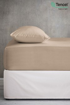 Cool Touch Tencel 200 Thread Count Deep Fitted Sheet