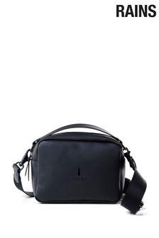 Rains Black Box Bag