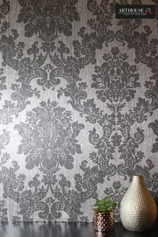 Foil Damask Wallpaper by Arthouse