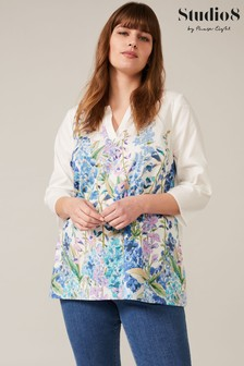 Studio 8 Multi Lucy Meadow Print Top