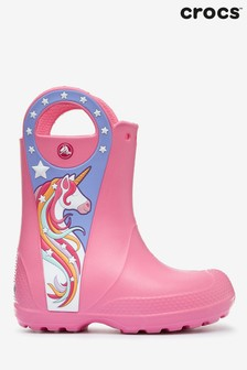 Crocs™ Unicorn Pull-On Wellies