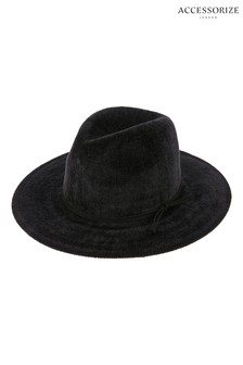 Accessorize Chenille Packable Fedora Hat