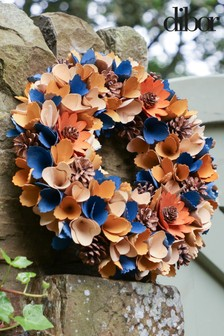 Harvest Pinecone Wreath by Dibor