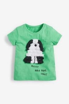 Tassel Dog T-Shirt (3mths-7yrs)