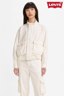Levi's® White Utility Jacket