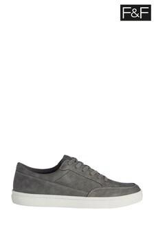 F&F Grey Cupsole Boots