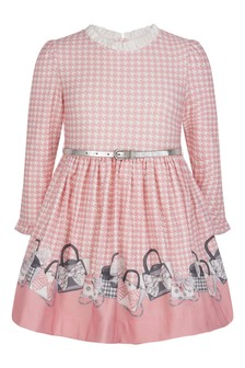 Girls Pink Blush Dress