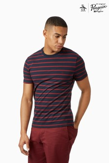 Original Penguin® Short Sleeve Breton Stripe T-Shirt